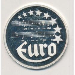 10 Euro Europa - 1997 - Danemark - Partition musique - argent