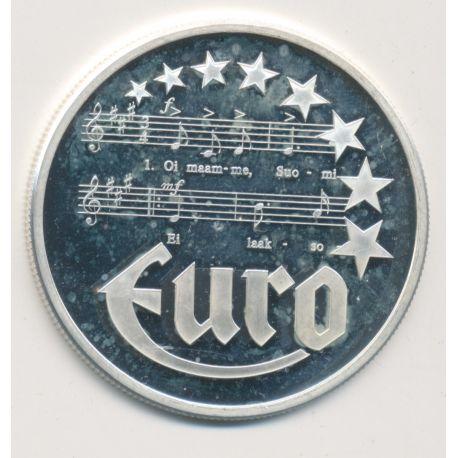 10 Euro Europa - 1997 - Finlande - Partition musique - argent
