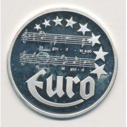 10 Euro Europa - 1997 - Grèce - Partition musique - argent