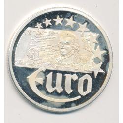 10 Euro Europa - 1997 - Autriche - Billet 5000 schillings - argent