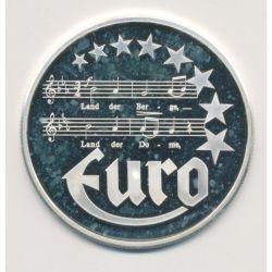 10 Euro Europa - 1997 - Autriche - Partition musique - argent