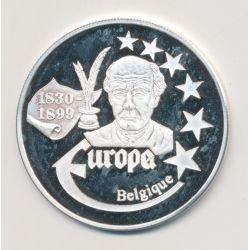 Medaille Europa - 1999 - Belgique - Collection Écrivains - argent