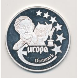 Medaille Europa - 1999 - Danemark - Collection Écrivains - argent