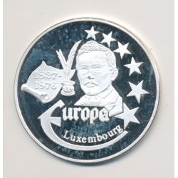 Medaille Europa - 1999 - Luxembourg - Collection Écrivains - argent
