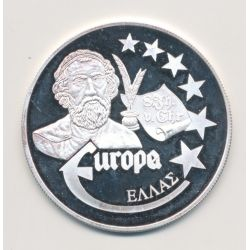 Medaille Europa - 1999 - Grece - Collection Écrivains - argent
