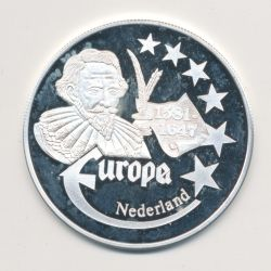 Medaille Europa - 1999 - Pays-bas - Collection Écrivains - argent