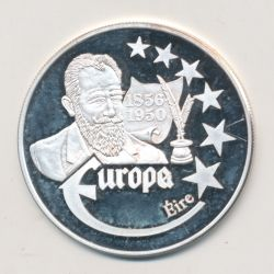 Medaille Europa - 1999 - Irlande - Collection Écrivains - argent