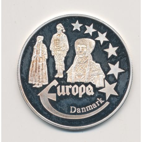 Medaille Europa - 2000 -  - Collection Folkore - argent