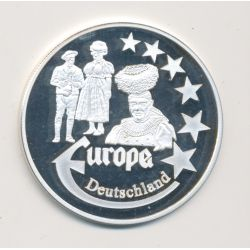 Medaille Europa - 2000 - Allemagne - Collection Folkore - argent