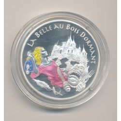 1 1/2 Euro - La belle au bois dormant - 2003 - Contes des enfants d'Europe - argent BE