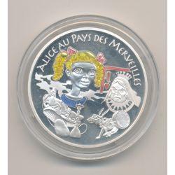 1 1/2 Euro - Alice aux pays des merveilles - 2003 - Contes des enfants d'Europe - argent BE