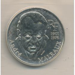100 Francs André Malraux - 1997 - argent