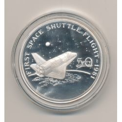 Marshall Islands - 50 Dollars - 1989 - First space shuttle flight 1981