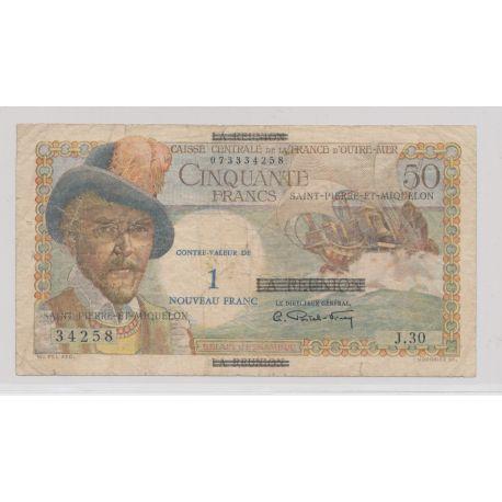 Billet - 50 Francs Belain d'esnambuc - St pierre et Miquelon