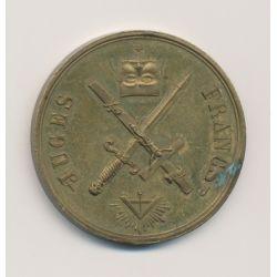 Médaille Maçonnique - Les Francs-Juges - 1848 - laiton