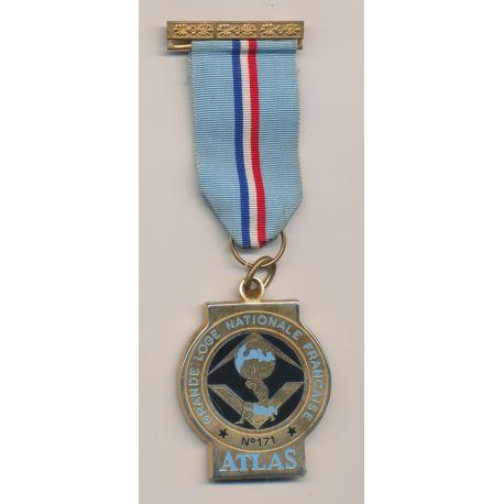 Médaille Maçonnique - Loge Atlas - Grande loge nationale française