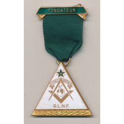Médaille Maçonnique - Loge L'étoile Australe - Grande loge nationale française