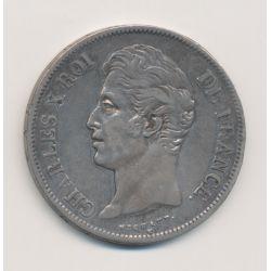 5 Francs Charles X - 1827 B Rouen