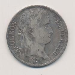 5 Francs Napoléon empereur - 1811 L Bayonne