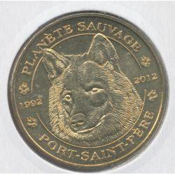 Dept44 - Planète sauvage N°5 - le loup - 2012 - Port st père