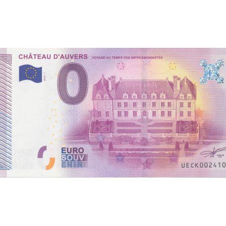 Billet Chateau d'auvers 2015