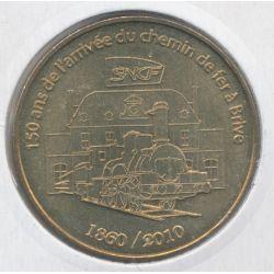 Dept19 - 150 ans de l'arrivée chemin de fer - 2010 - Brive