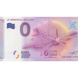 Billet Mémorial de Caen - 6 juin 1944 - 2015