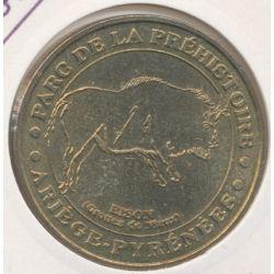 Dept09 - Parc préhistoire - le bison 2006 M - Tarascon sur ariège