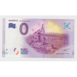 Billet Zéro € - Rocher de la vierge - 2019 - Biarritz