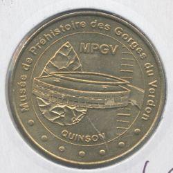 Dept04 - Musée de la préhistoire N°1 - 2006 B - gorges du verdon - Quinson