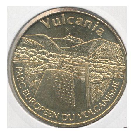 Dept63 - Vulcania N°2 - 2007 - le cone et la chaine des puys