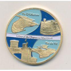 Medaille - Littoral charente maritime - en couleur