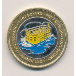Medaille - Fort boyard - en couleur