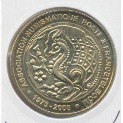 Dept7512 - Association numismatique de la poste - 2008 - Paris