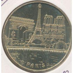 Dept7515 - Tour montparnasse N°2 - le pont et les 3 monuments - 2007 - Paris