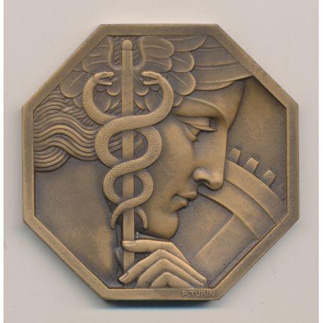 Médaille - Comité Français des expositions - 1885 - graveur Turin - Art deco