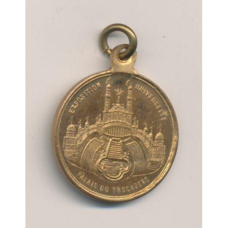 Médaille - Exposition Universelle - Palais du Trocadéro - République Française
