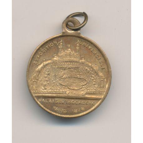 Médaille - Exposition Universelle - Palais du Trocadéro - Paris 1878