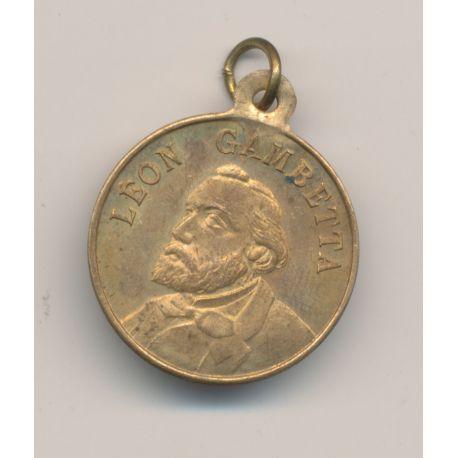 Médaille - Léon Gambetta