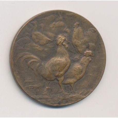 Médaille - Société d'Aviculture du Poitou - bronze