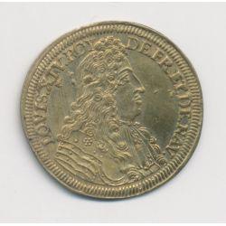 Jeton de Nuremberg - Louis XIV - laiton