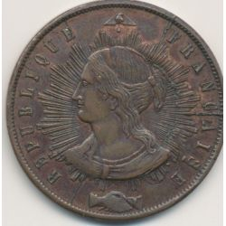 10 Centimes 1848 Pillard Essai