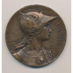 Médaille - Association régionale des gymnastes des deux charentes - Cognac 1899 - bronze