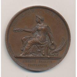 Médaille - Exposition internationale des beaux arts et de l'industrie - Londres 1872 - cuivre