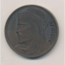 Médaille - Exposition coloniale internationale Paris - 1931 - Afrique - TTB