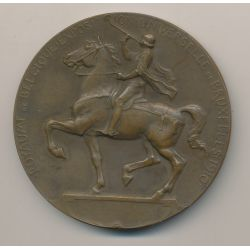 Médaille - Exposition Universelle Bruxelles - 1910 - bronze