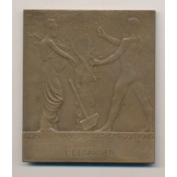 Médaille - Exposition internationale - Centenaire indépendance de la république argentine - 1910