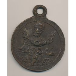 Médaille - Assassinat Sadi Carnot - Président de la république - bronze
