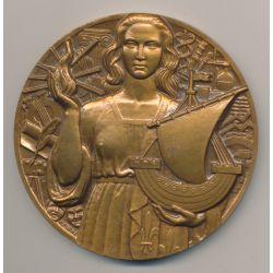 Médaille - Monuments de Paris - graveur Turin - bronze