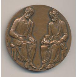 Médaille - Alliance Française - Saigon 1969 - Dropsy - bronze